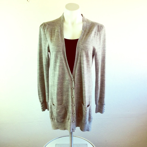 Reiss Sweaters - Reiss Large cardigan button up sweater
